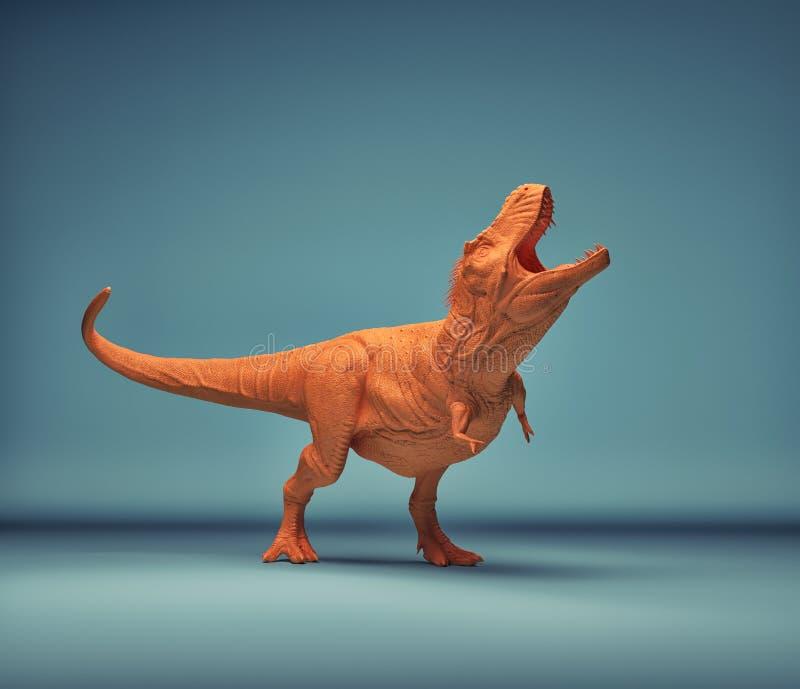 Dinosaure - trex illustration libre de droits