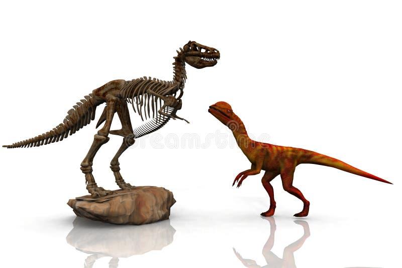 Dinosauri illustrazione di stock