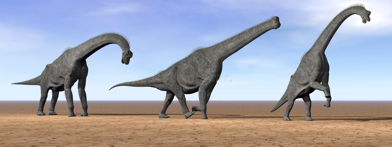 Download Dinosauri Del Brachiosaurus Nel Deserto - 3D Rendono Illustrazione di Stock - Illustrazione di grande, nube: 30825909