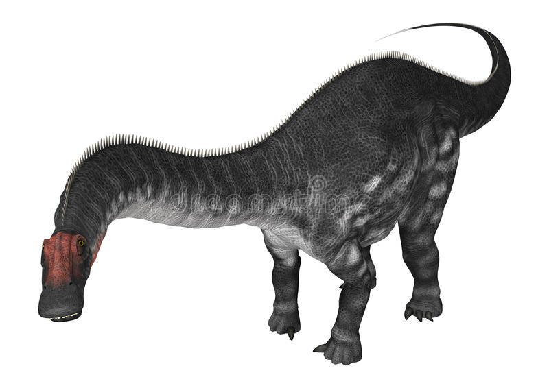 DinosaurieApatosaurus royaltyfri illustrationer