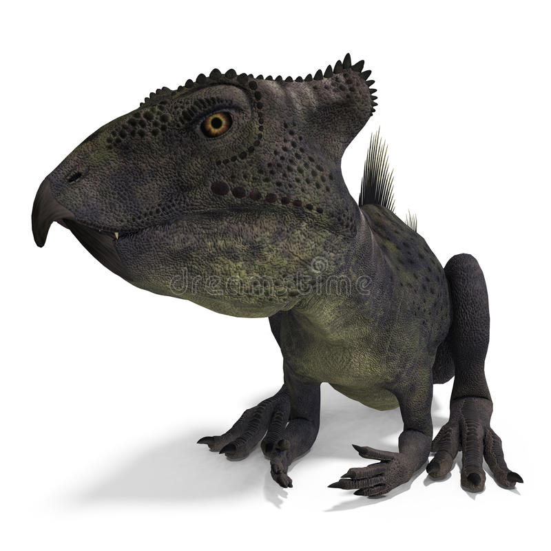 Dinosaurier Archaeoceratops vektor abbildung