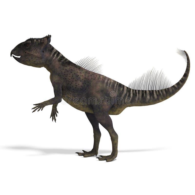 Dinosaurier Archaeoceratops. vektor abbildung