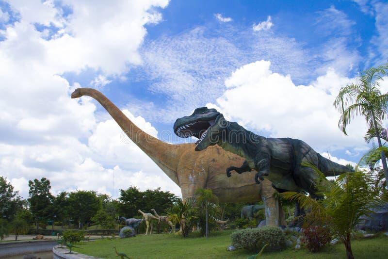 Dinosaurier-Museum stockbilder