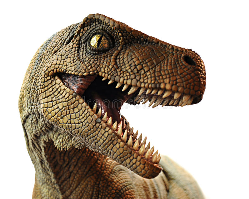 Dinosaurier-Nahaufnahme lizenzfreie stockfotos