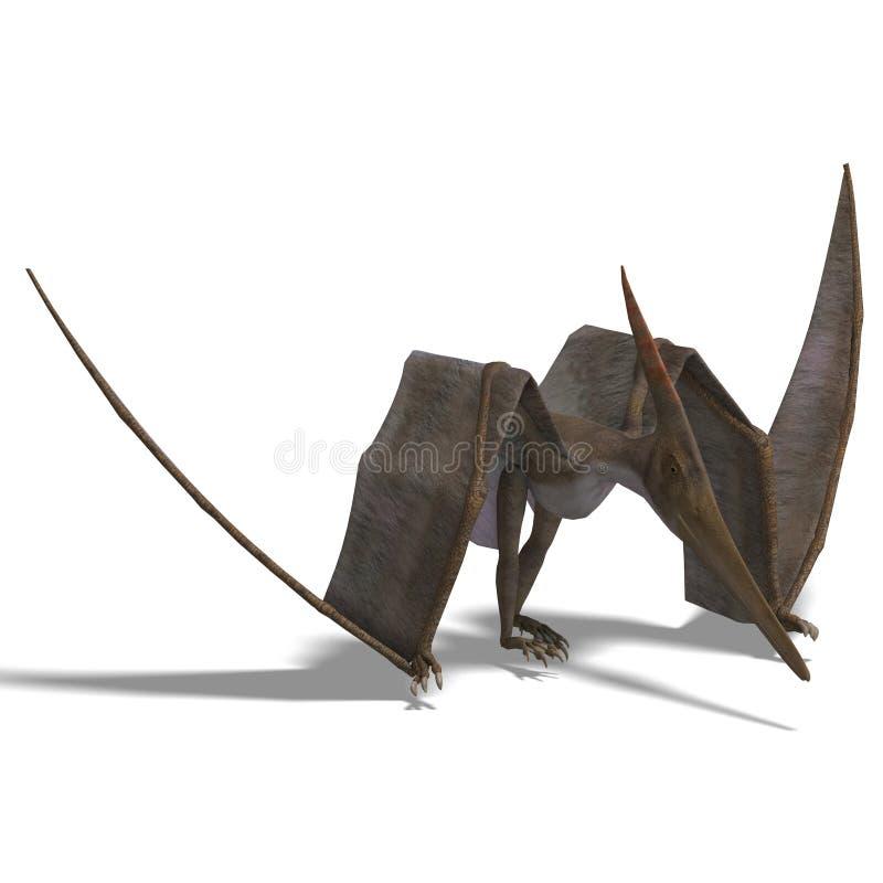 Dinosaurier Pteranodon lizenzfreie abbildung