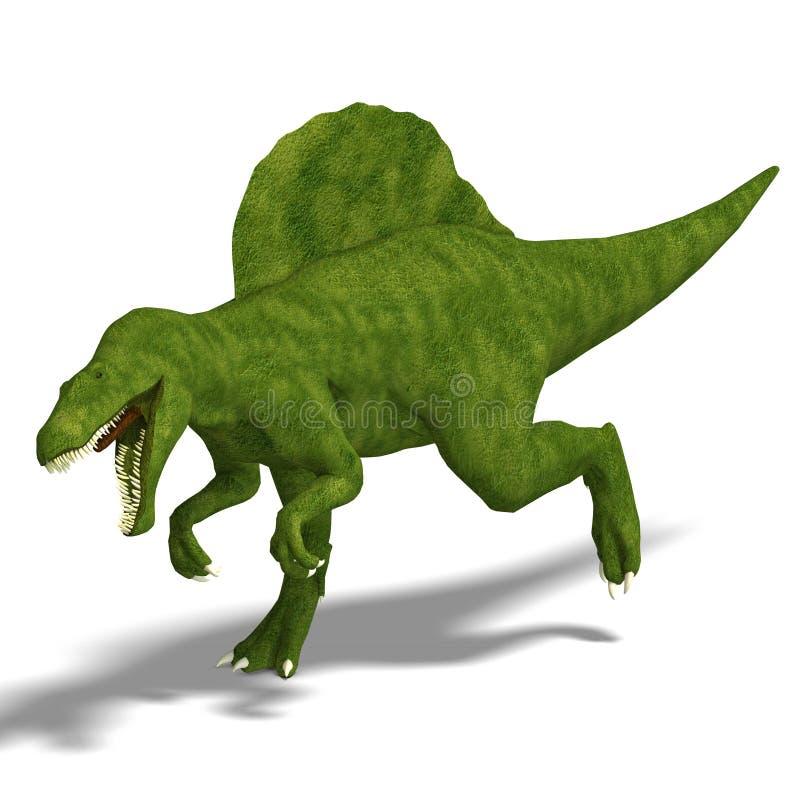Dinosaurier Spinosaurus vektor abbildung