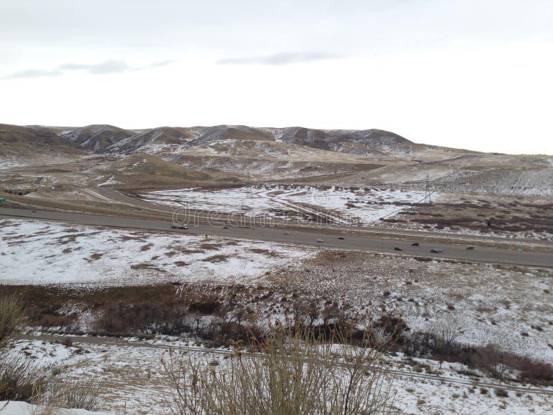 Dinosaurierkante Denvers Colorado stockfotografie