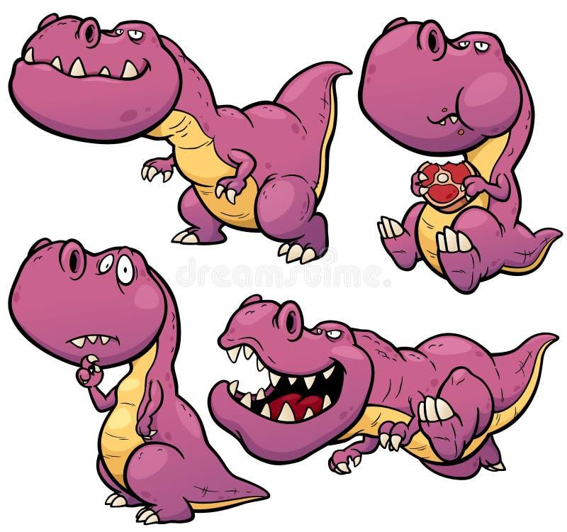 Dinosaurierkarikatur