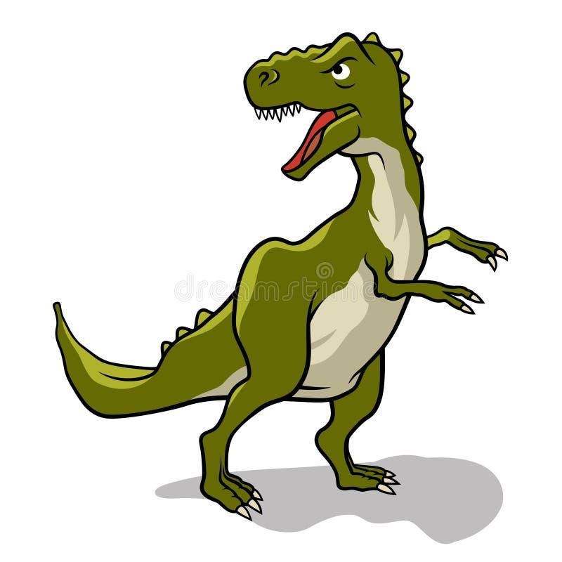 Dinosaurietecken 003 vektor illustrationer