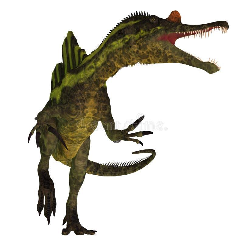 Dinosaurio de Ichthyovenator en blanco libre illustration