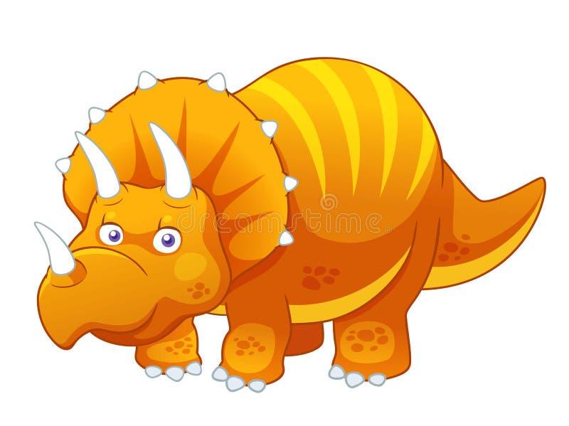 Dinosaurio de la historieta stock de ilustración
