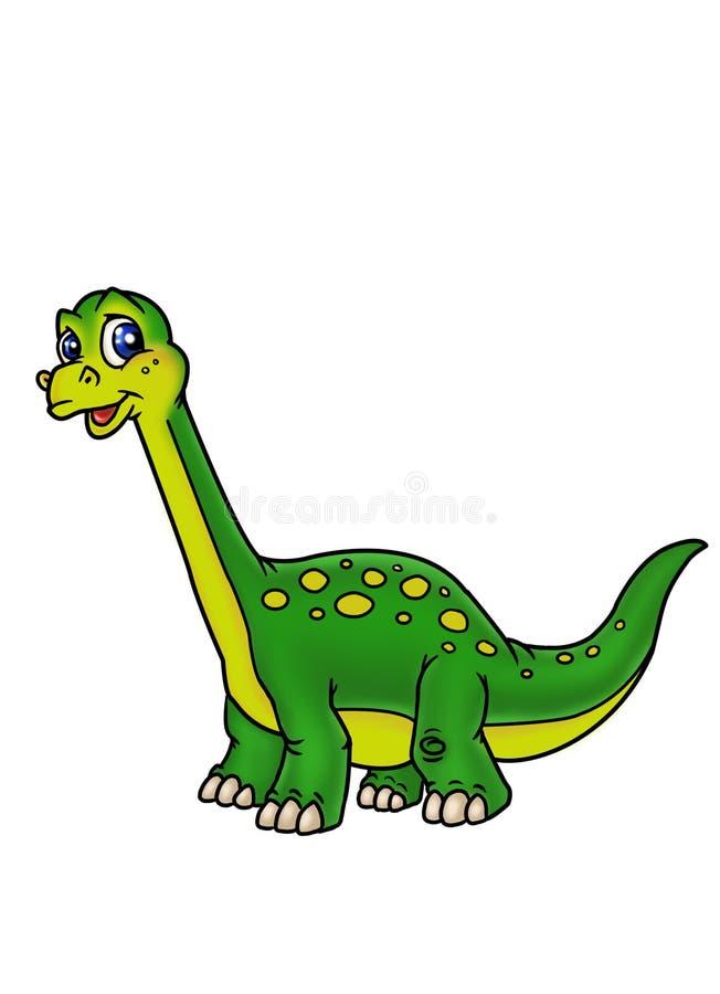 Dinosaurio del reptil ilustración del vector