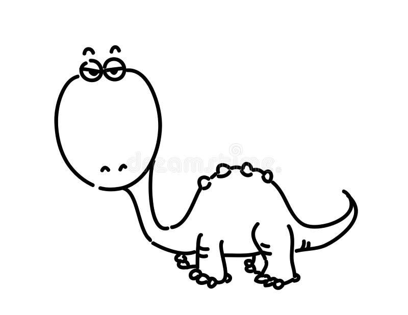 Dinosaurio del vector ilustración del vector