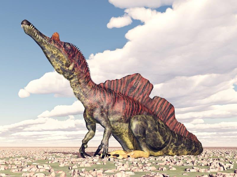 Dinosaurio Ichthyovenator libre illustration