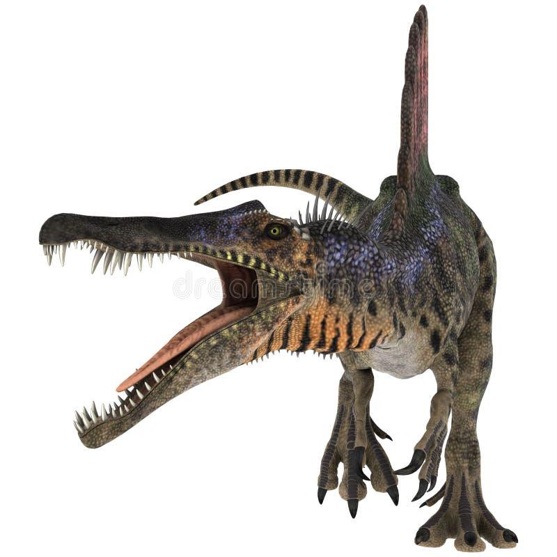 Dinosaurio Spinosaurus ilustración del vector