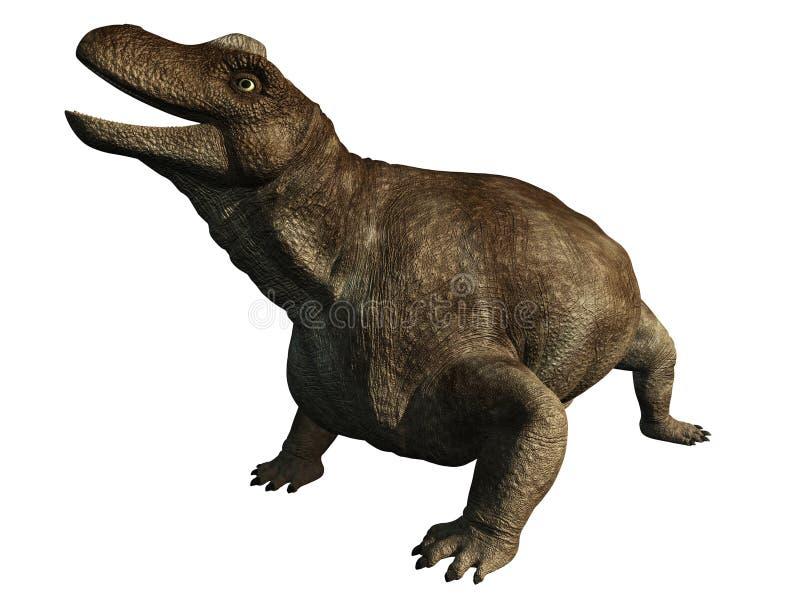 dinosaurkeratocephalus vektor illustrationer