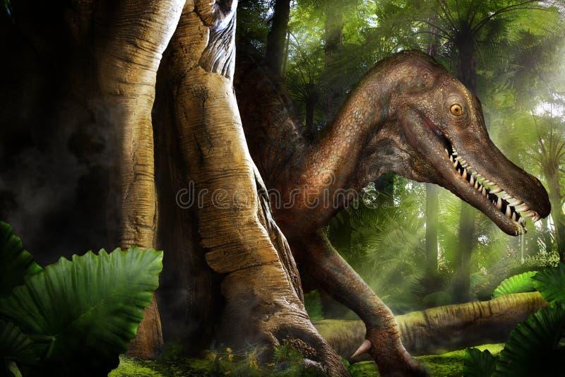 Dinosauro fotografia stock