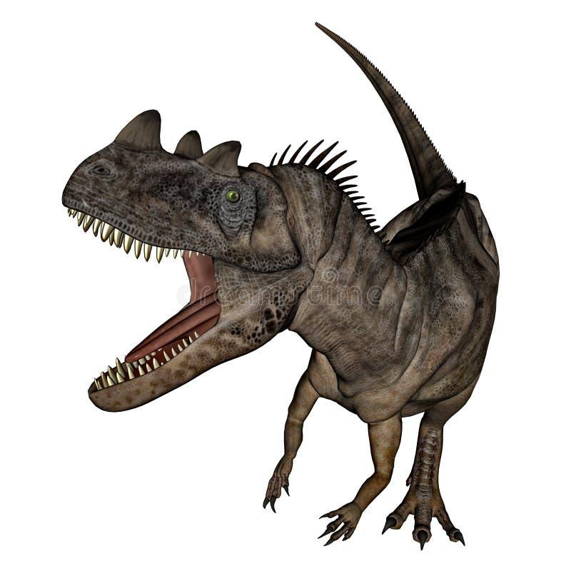 Download Dinosauro Del Ceratosaurus - 3D Rendono Illustrazione di Stock - Illustrazione di nave, digitale: 55361907