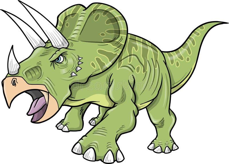 Dinosauro del Triceratops royalty illustrazione gratis