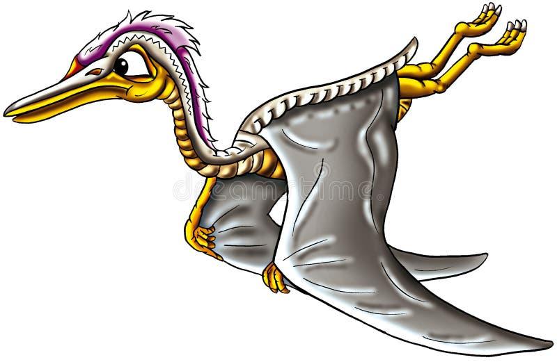 Dinosauro di volo illustrazione vettoriale