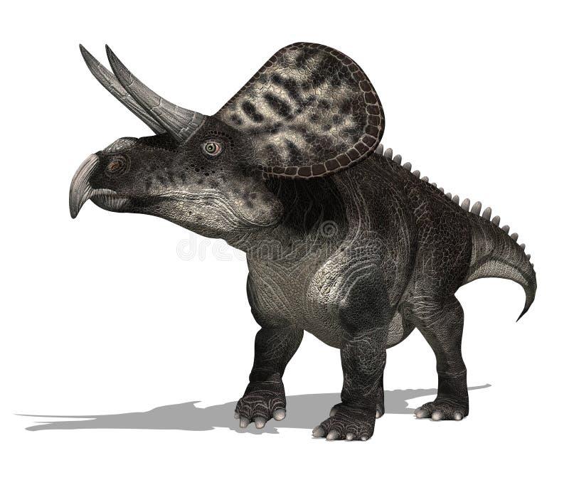 Dinosauro di Zuniceratops illustrazione di stock