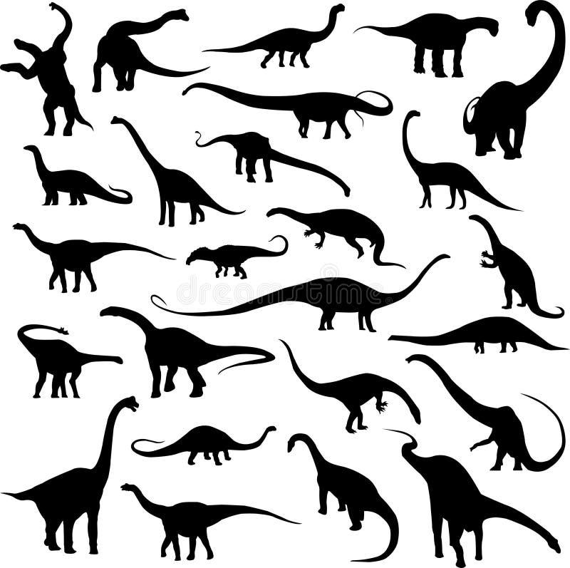 Dinosauro erbivoro royalty illustrazione gratis