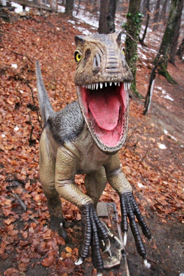 Dinosauro feroce - fotografie stock libere da diritti