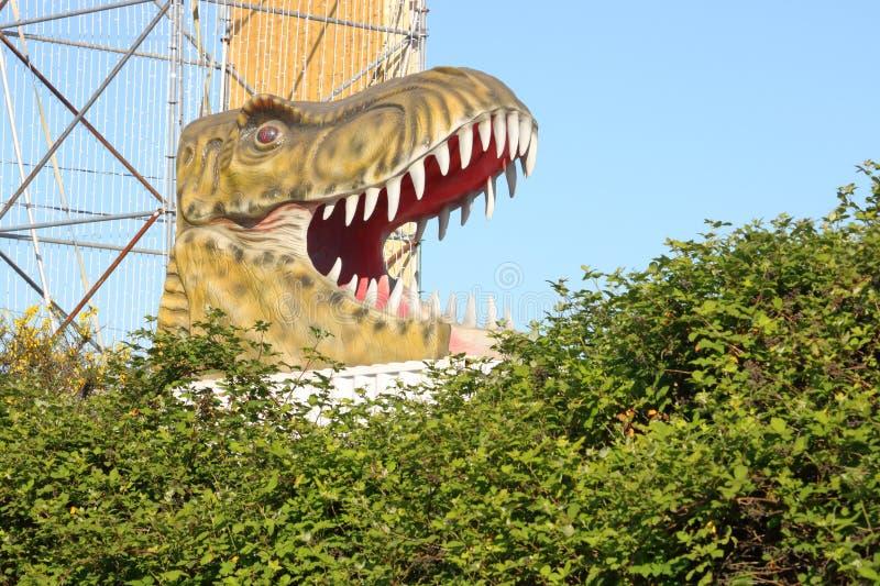 Dinosauro feroce moderno immagini stock libere da diritti