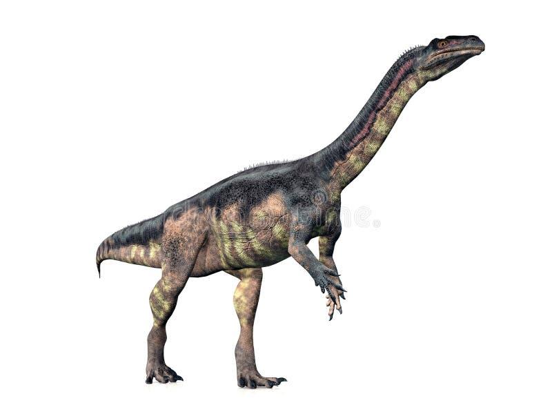 dinosaurplateosaurus royaltyfri illustrationer