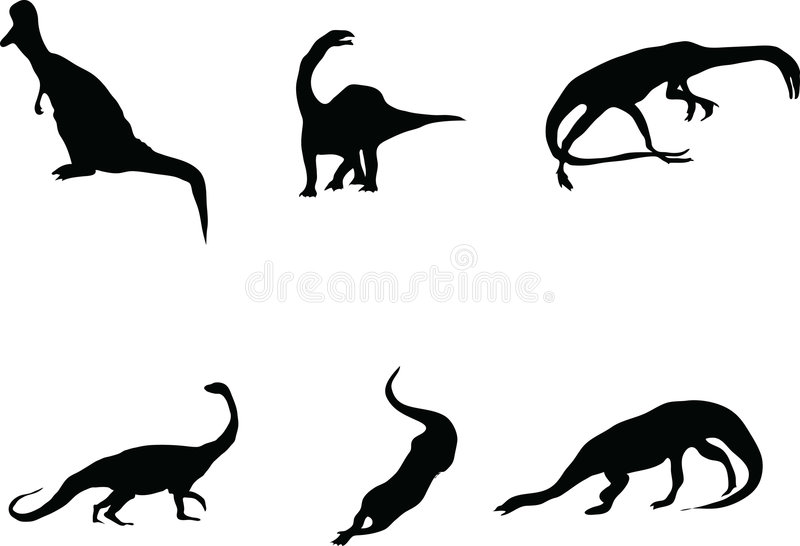 Download Dinosaurs. stock vector. Illustration of hunter, large - 7640746