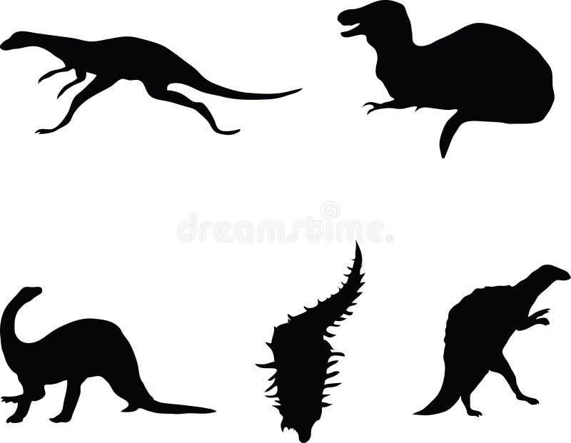 Dinosaurs. Photographie stock libre de droits
