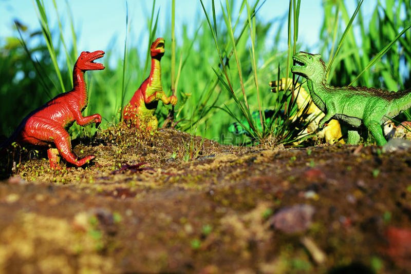 Dinosaurs royalty free stock images