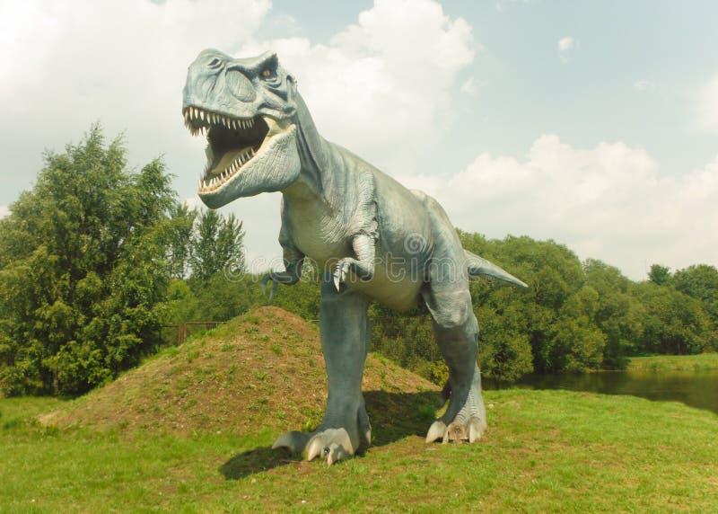 dinosaurs Parque do dinossauro fotos de stock royalty free