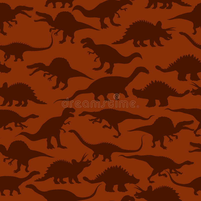 Download Dinosaurs seamless pattern stock vector. Image of design - 29315820