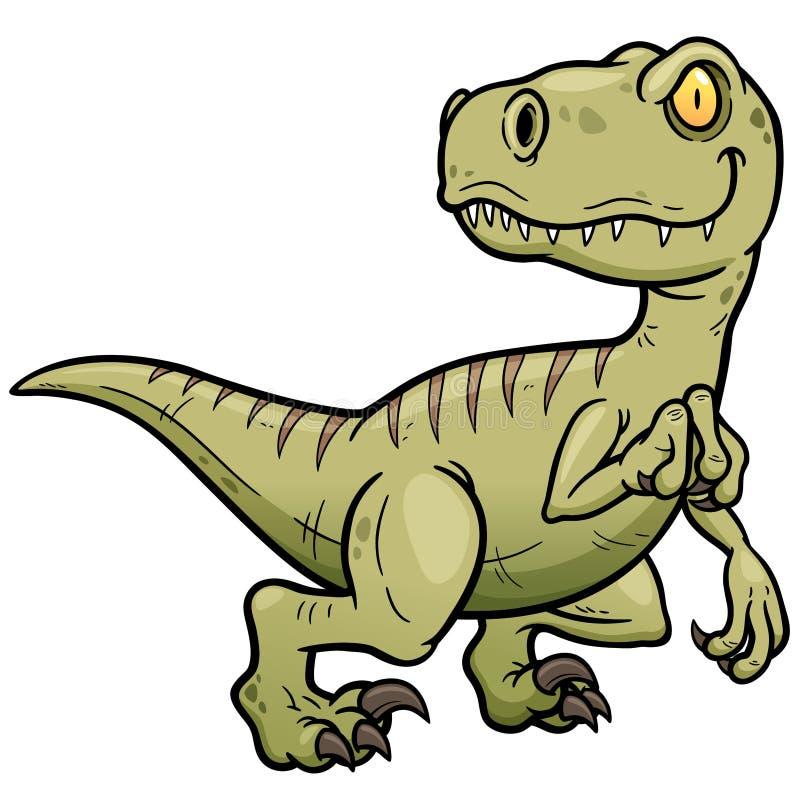 Dinosaurs. Vector illustration of Dinosaurs cartoon royalty free illustration