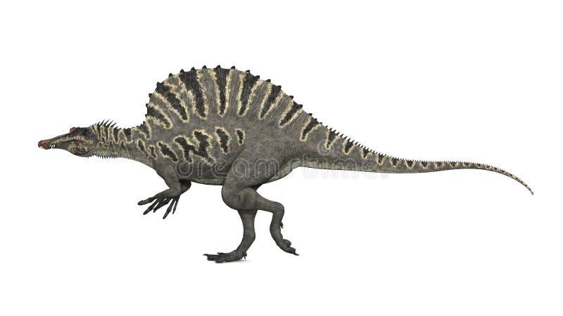 dinosaurspinosaurus stock illustrationer