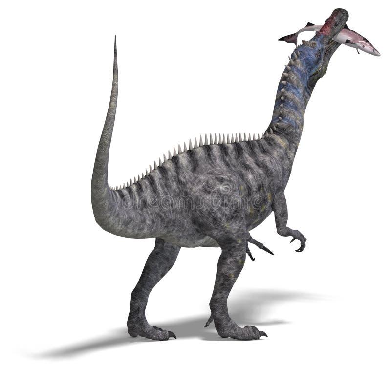 dinosaursuchominus stock illustrationer