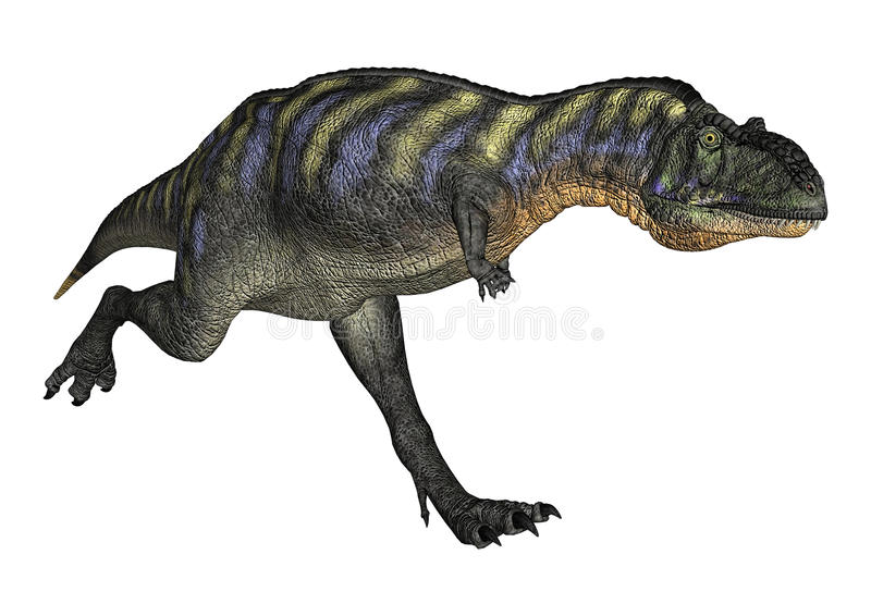 Dinosaurus Aucasaurus vector illustratie