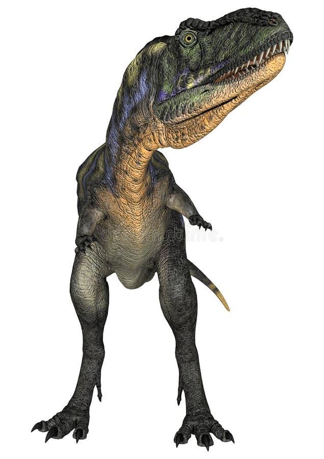 Dinosaurus Aucasaurus royalty-vrije illustratie