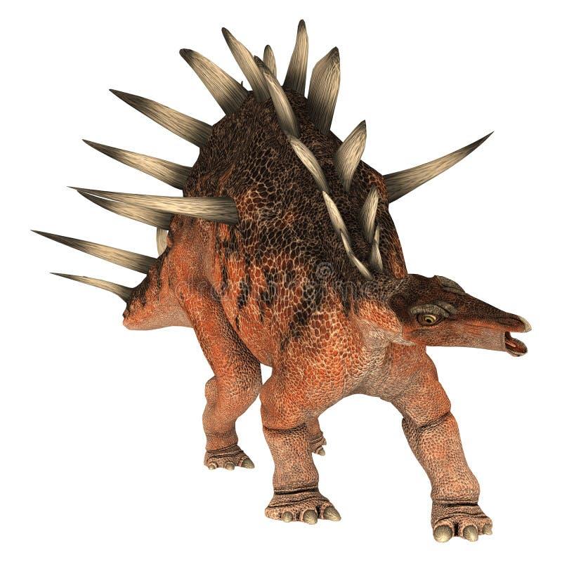 Dinosaurus Kentrosaurus vector illustratie