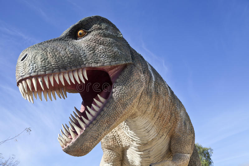 Dinosaurus t-Rex stock foto