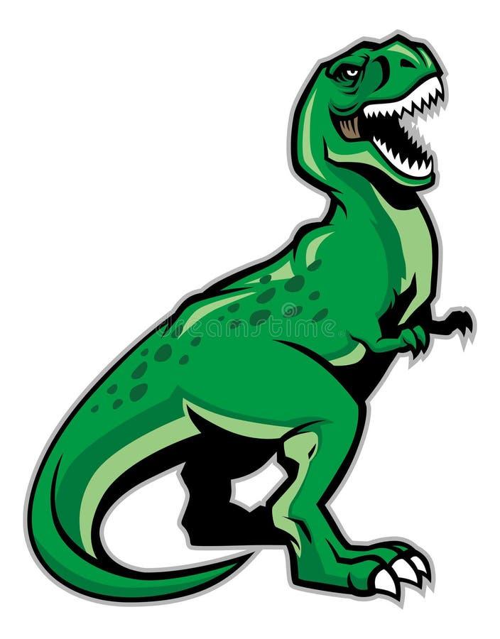 Dinosaurus t -t-rex royalty-vrije illustratie