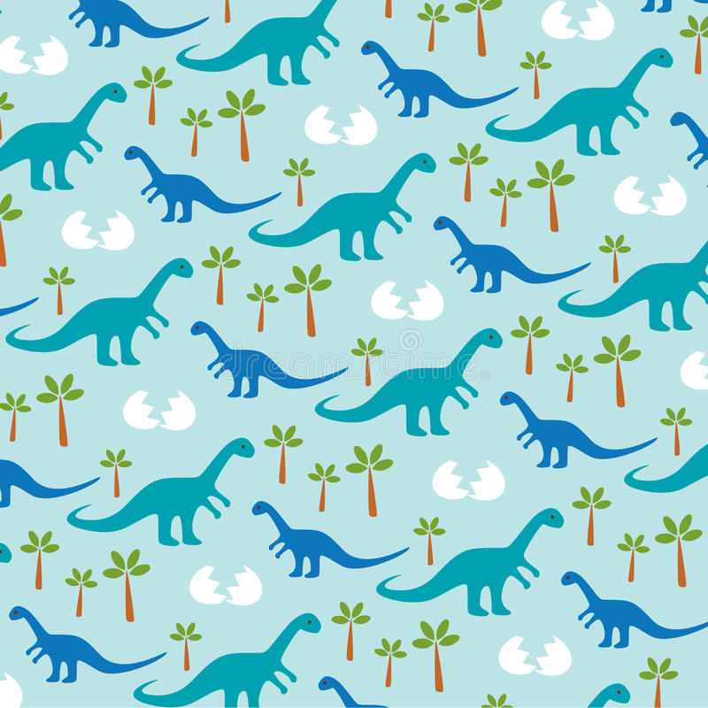 Dinosaurusbaby vector illustratie