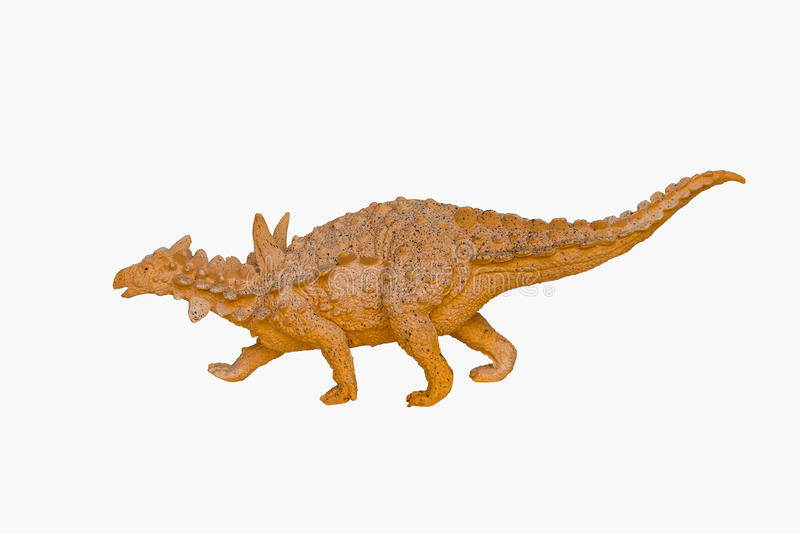 Dinosaurusstuk speelgoed royalty-vrije stock foto's