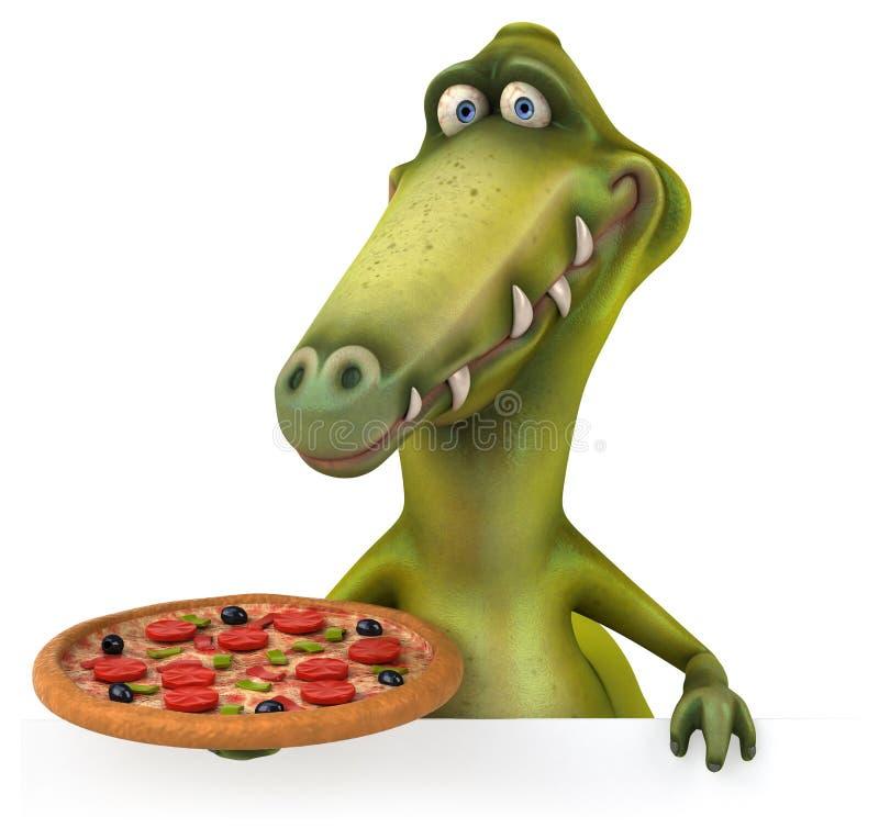 dinosaury royalty ilustracja