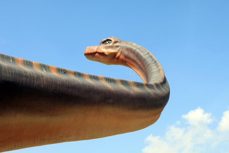 Dinosour de Brachiosarus fotos de stock royalty free