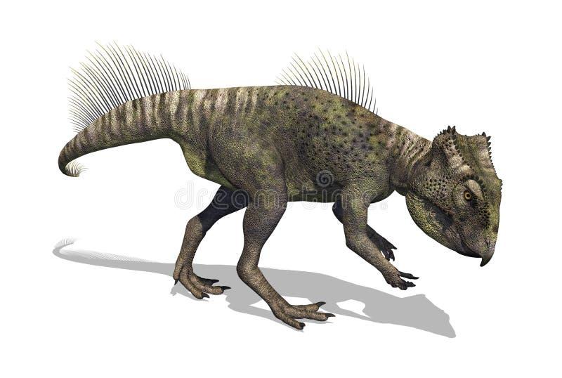 Dinossauro 2 de Archaeoceratops ilustração do vetor