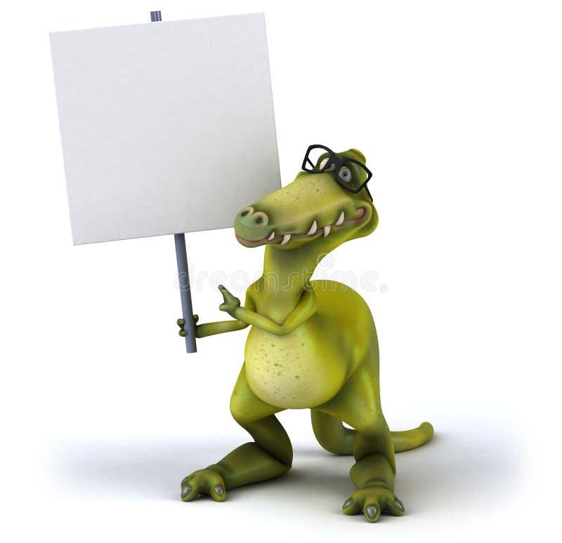 Dinossauro ilustração stock