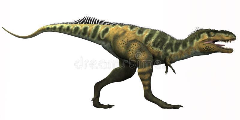 Dinossauro de Bistahieversor ilustração royalty free