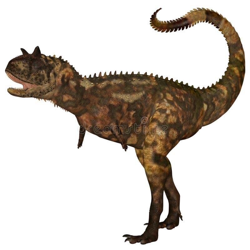 Dinossauro de Carnotaurus ilustração royalty free